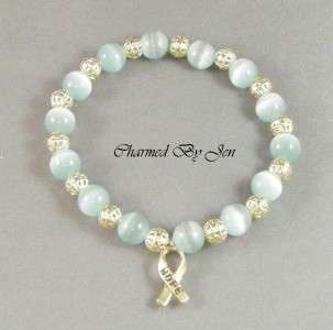 Support cervical / ovarian cancer awareness with this hand crafted