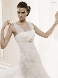 Item Name Desmont Lace Elegant Bridal Wedding/Party Dress + Free