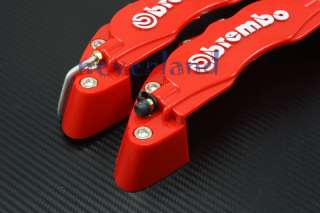 Front 3D Disc Brake Caliper Covers Brembo Universal