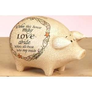 This House Inspirational Small Piggy Coin Money Bank