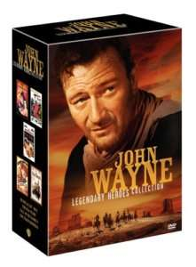 John Wayne Legendary Heroes Collection 5 DVD Set