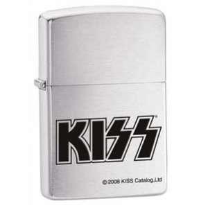 Kiss Logo Rock Band Chrome Zippo Lighter  Sports