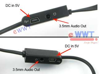 adaptor export your phone video signal and sound signal to tv watch