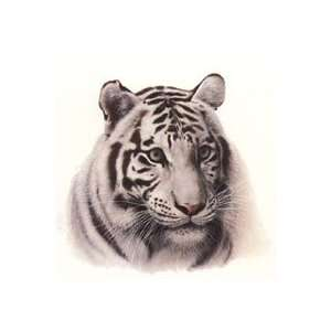 Charles Frace   White Tiger Head Home & Kitchen