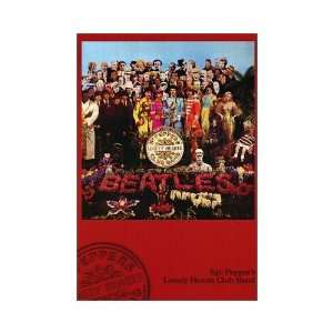Beatles Commercial Poster Sgt Peppers Lonely Hearts