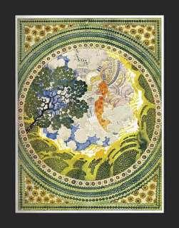 fue publicada en 1908 no un repro presentando un adorno decorativo