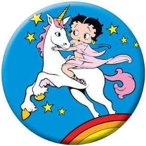 Betty Boop Unicorn Button 81524 Toys & Games