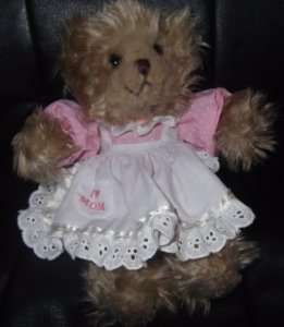 Brittany Jr. RUSS Teddy Bear I Love Mom Dress CUTE