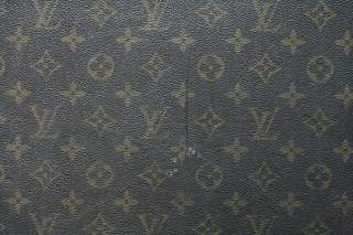 LOUIS VUITTON VINTAGE Luggage Monogram TRUNK Suitcase Hard Travel Case