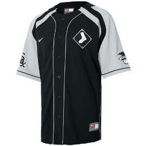 Nike Chicago White Sox Black Hardball Jersey