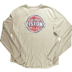 Adidas Originals Detroit Pistons Long Sleeve Thermal T Shirt
