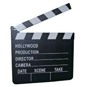 8 x 7 Wooden Hollywood Movie Directors Clapboard Toys & Games