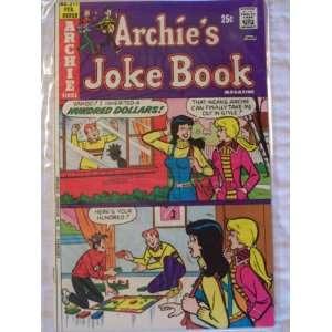 Archies Joke Book Comic Book (Gift Gaff, 217) John Goldwater Books