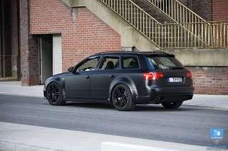 18 RS4 Wheels Rims Matte Black Fit Audi allroad