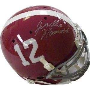 Joe Namath signed Alabama Crimson Tide Authentic Schutt Helmet Willie