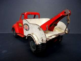 Tonka Official MM Service Truck Tow Truck Red & White Original