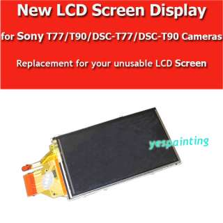 Display with Backlight for Nikon D90 D700 D300 Canon 5D Mark II