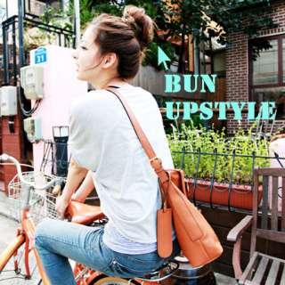 BUN Extensions elastic piece BIG sz Updos Hair Styling common grade ml