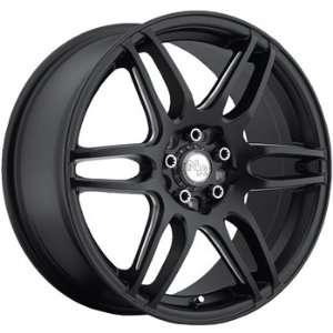 Niche NR6 18x8 Black Wheel / Rim 5x110 & 5x115 with a 40mm