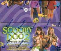 Scooby Doo Monsters Unleashed Trading Card Box