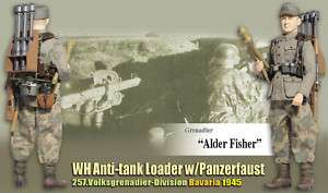 Dragon WWII German WH Anti tank Loader Alder Fisher 1/6 |