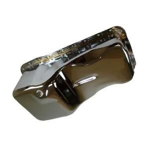 Small Block 351W Windsor Stock Capacity Oil Pan   Chrome Automotive
