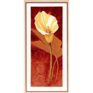 Calla Lily (cross stitch): Arts, Crafts & Sewing