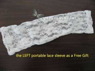 New Womens One Shoulder Fitted Lace Evening Wedding Cocktail Party