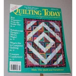 Issue 40 (The International Quilt Magazine, Quilts, Patterns, Designs