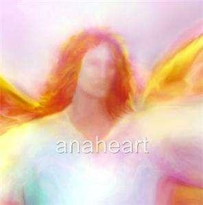 ARCHANGEL SANDALPHON in FLIGHT Angel Art Work Painting