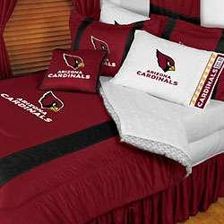 NFL ARIZONA CARDINALS Full Queen Bedding COMFORTER SET