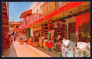 Old TIJUANA MEXICO Typical Market Place POSTCARD !!!