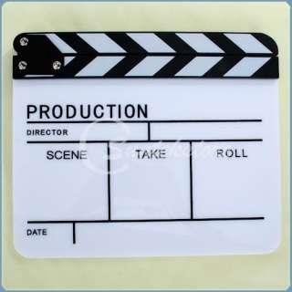 New Clapper Board Clap Clapperboard TV Film Movie Slate