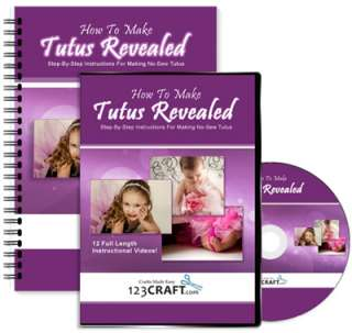 How To Make Tutus Revealed   Tutu Instructions   DVD + e Manual