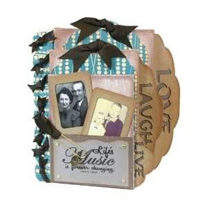 New   Live Love Laugh Canvas Kit by Quick Quotes Arts