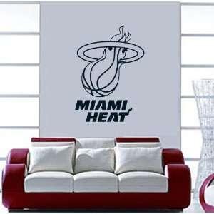 Miami Heat NBA Vinyl Decal Sticker / 30 x 22 Everything