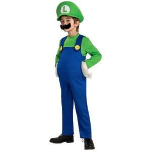 Deluxe Luigi Child Costume Toys & Games