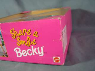 NRFB 1996 Share A Smile Becky (Friend of Barbie) Special Edition