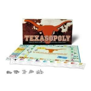 Texas Longhorns NCAA Texasopoly Monopoly Game Toys