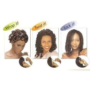 Janet Collection Afro Kinky Twist Bulk 24 Color 33 Dark