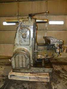 Kearney & Trecker Corp Horizontal Milling Machine Model H 10X50 Inch