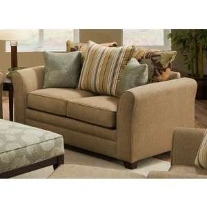 Kristin Beautyrest Stationary Loveseat Fabric: Avignon