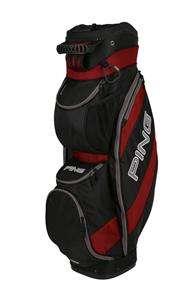 NEW 2012 Ping TRAVERSE INFERNO RED/BLACK Golf 14 Way CART Bag
