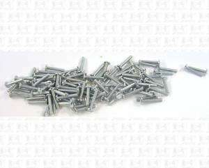 Miniature Hardware Parts 100 Pack HO Freight Car Truck Small Screws 2