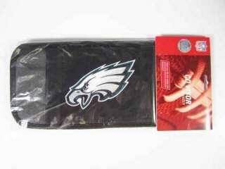 NFL Philadelphia Eagle Logo Auto Car CD Visor Organizer