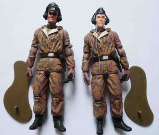Germany WWII commander soldier action figure RARE #D4