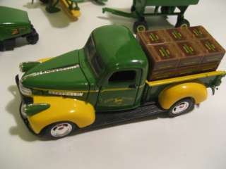 John Deere & Tonka die cast toy lot including a Gearbox 1941 Chevy