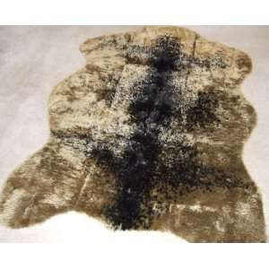 Grizzly Bear  Bear Collection  Faux Fur Rug  3 foot X 5 foot