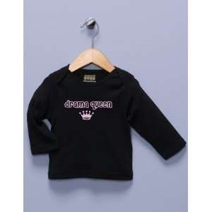 Drama Queen Black Long Sleeve Shirt
