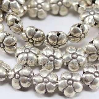 Thai Karen Hill Tribe Silver Daisy Flower Beads B28
